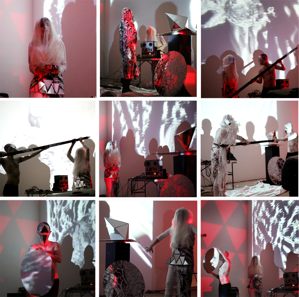 SMASHISIM, a night of video, performance and ephemeral installation.