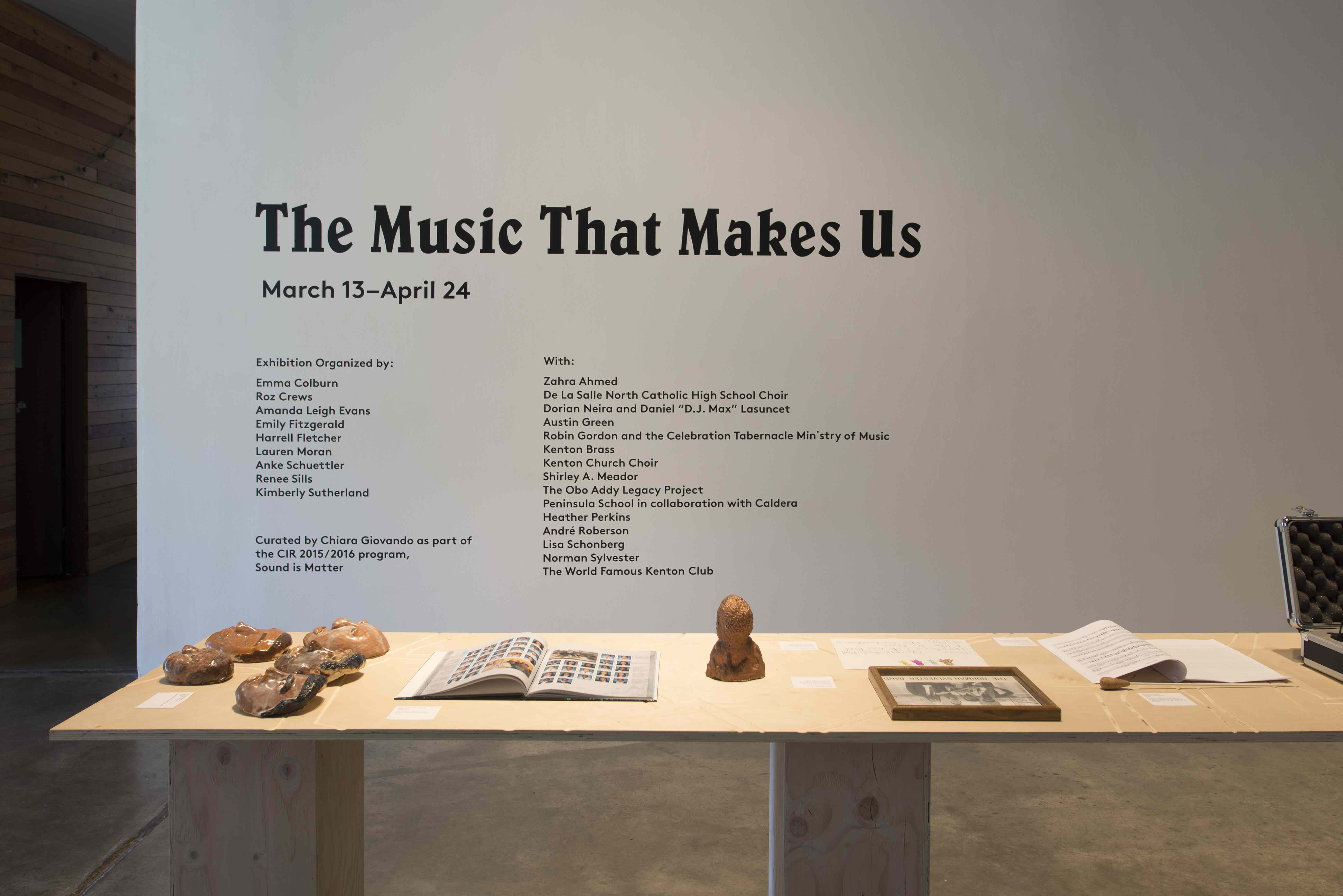 The Music That makes Us, Harrell Fletcher and the PSU MFA Social Practice Department
